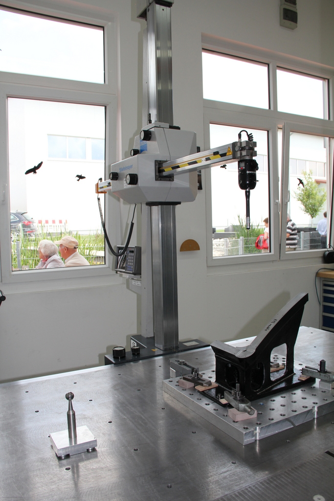 Stiefelmayer Messmaschine C-System